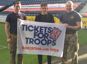 Preston North End Support Tickets For Troops