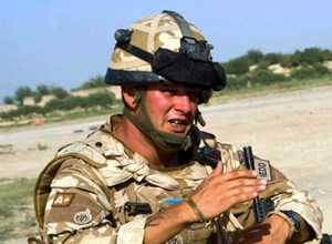 BOMB DISPOSAL EXPERT WO1 KIM HUGHES (George Cross) IS NEW TICKETS FOR TROOPS PATRON