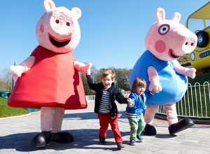 PAULTONS PARK, home of PEPPA PIG WORLD